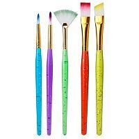 ALEX 15-pk. Mini Sparkle Paint Brushes