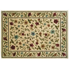 Click here to buy StyleHaven Cassidy Floral Leaf Rug .