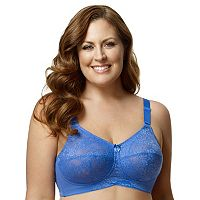 Elila Bra: Lace Full-Figure Bra 1303