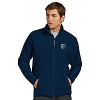 Men's Antigua Sporting Kansas City Ice Polar Fleece Jacket