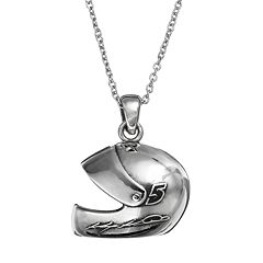 Insignia Collection NASCAR Kasey Kahne '5' Stainless Steel Helmet Pendant Necklace