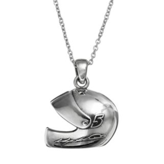 """Insignia Collection NASCAR Kasey Kahne """"5"""" Stainless Steel Helmet Pendant Necklace"""