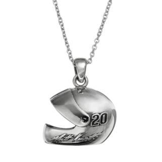 "Insignia Collection NASCAR Matt Kenseth ""20"" Stainless Steel Helmet Pendant Necklace"