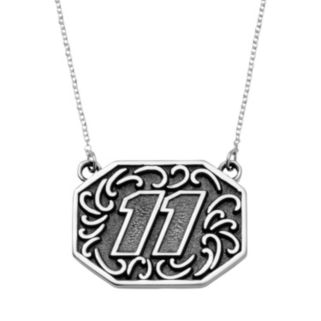 "Insignia Collection NASCAR Denny Hamlin Stainless Steel ""11"" Pendant"