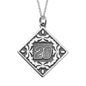 """Insignia Collection NASCAR Matt Kenseth """"20"""" Stainless Steel Pendant Necklace"""