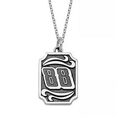 Insignia Collection NASCAR Dale Earnhardt Jr. Stainless Steel '88' Pendant