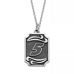 Insignia Collection NASCAR Kasey Kahne Stainless Steel '5' Pendant