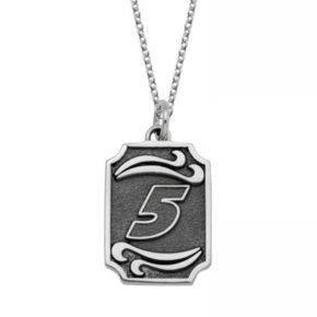 """Insignia Collection NASCAR Kasey Kahne Stainless Steel """"5"""" Pendant"""