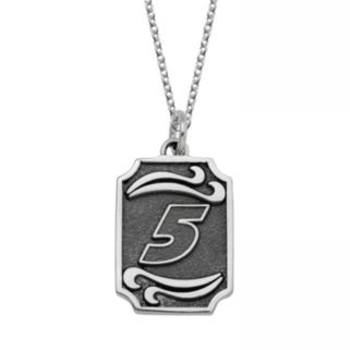 "Insignia Collection NASCAR Kasey Kahne Stainless Steel ""5"" Pendant"