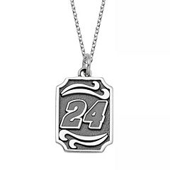 Insignia Collection NASCAR Jeff Gordon Stainless Steel '24' Pendant