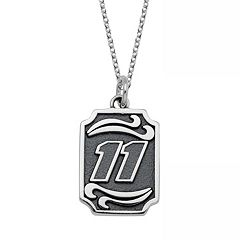 Insignia Collection NASCAR Denny Hamlin Stainless Steel '11' Pendant