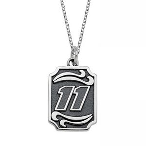 Insignia Collection NASCAR Denny Hamlin Stainless Steel