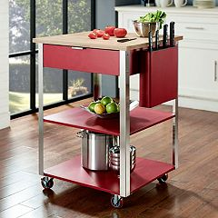 Crosley Furniture Culinary Prep Kitchen Cart by
