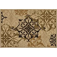 Couristan® Gatesby Floral Scroll Rug