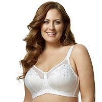 Elila Bra: Embroidered Full-Figure Bra 1301
