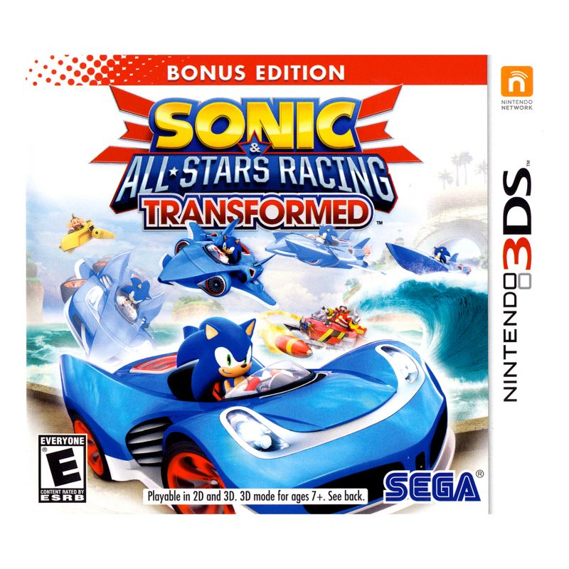 Sonic and All-Stars Racing Transformed: Bonus Edition for Nintendo 3DS, Multicolor