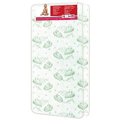 Dream On Me Nirvana 96-Coil Spring Toddler Crib Mattress
