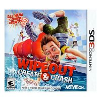 Wipeout: Create & Crash for Nintendo 3DS