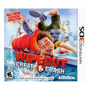 Wipeout: Create and Crash for Nintendo 3DS