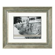 Belle Maison 8'' x 10'' Distressed Matted Frame
