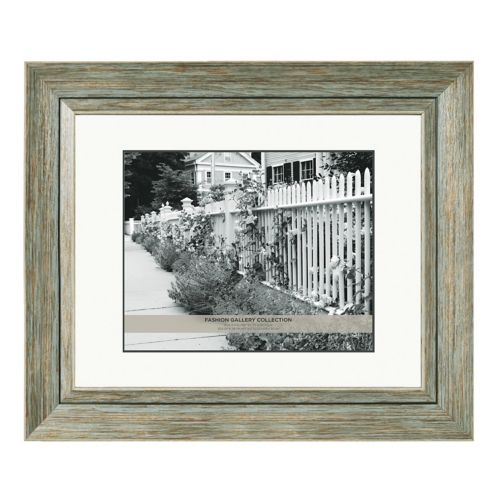 Belle Maison 8 X 10 Distressed Matted Frame