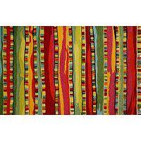 Trans Ocean Imports Liora Manne Seville Mosaic Stripe Wool Rug