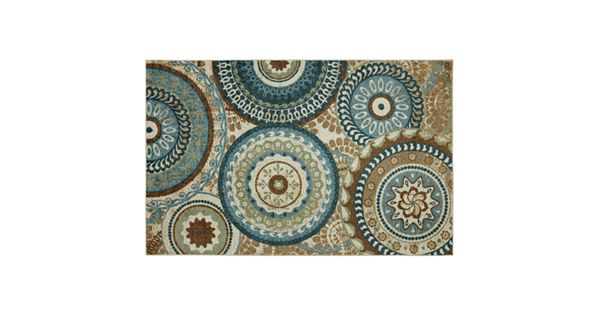 Mohawk 174 Home Forest Suzani Medallion Rug