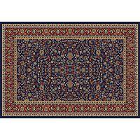 Merinos Kashan Floral Framed Rug