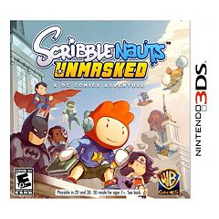 Scribblenauts Unmasked: A DC Comics Adventure for Nintendo 3DS