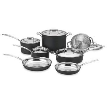 Cuisinart 12-pc. Hard-Anodized Nonstick Cookware Set