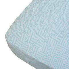 Oliver B Print Crib Sheet