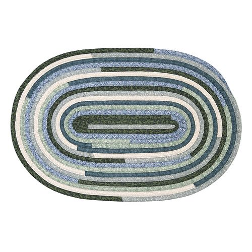 Colonial Mills Quilted Craft Braided Reversible Rug