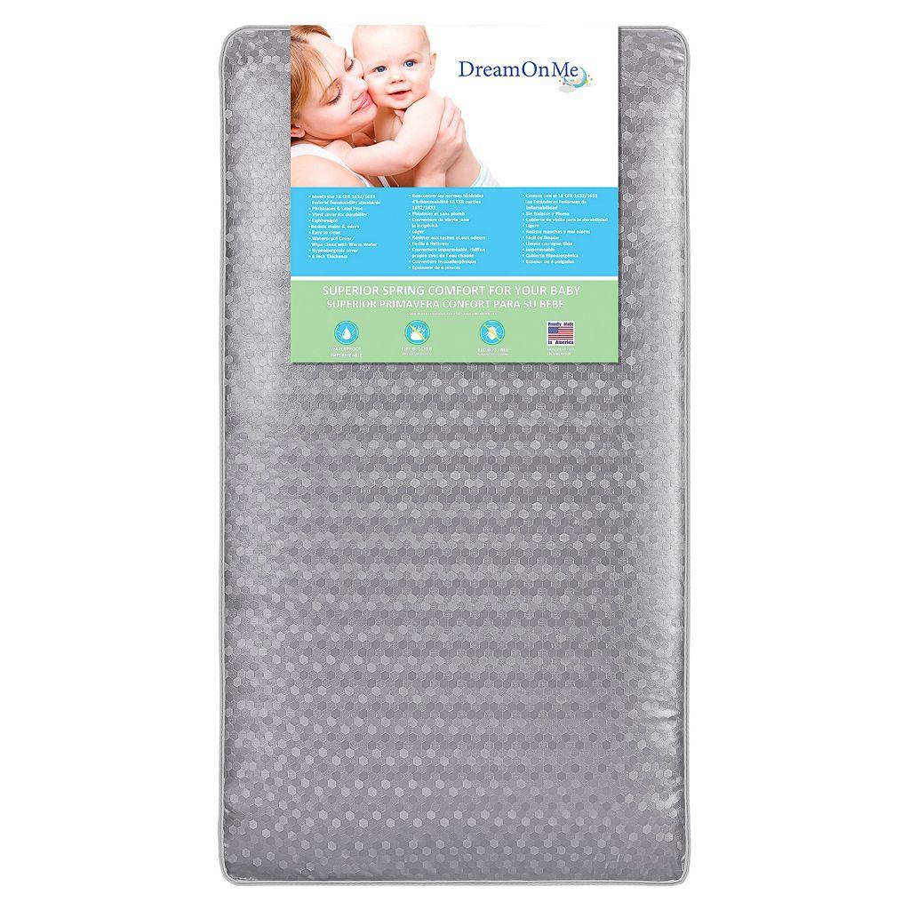 Dream On Me Superior Slumber 112-Coil Spring Toddler Crib Mattress