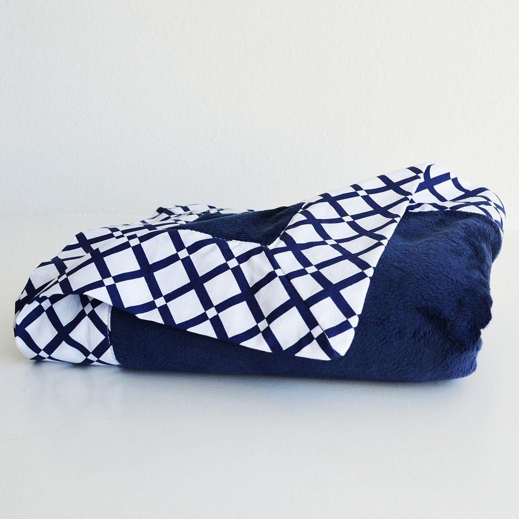 Oliver B Minky Stroller Blanket