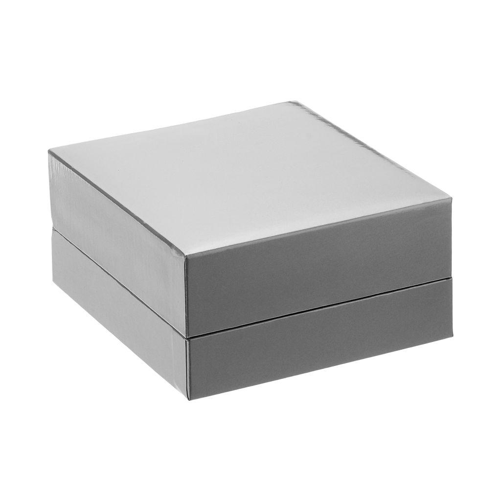 Cubic Zirconia Sterling Silver Square Drop Earrings
