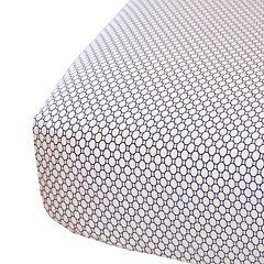Oliver B 200-Thread Count Print Crib Sheet
