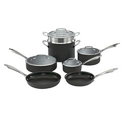 Cuisinart 11 pc Hard-Anodized Nonstick Cookware Set