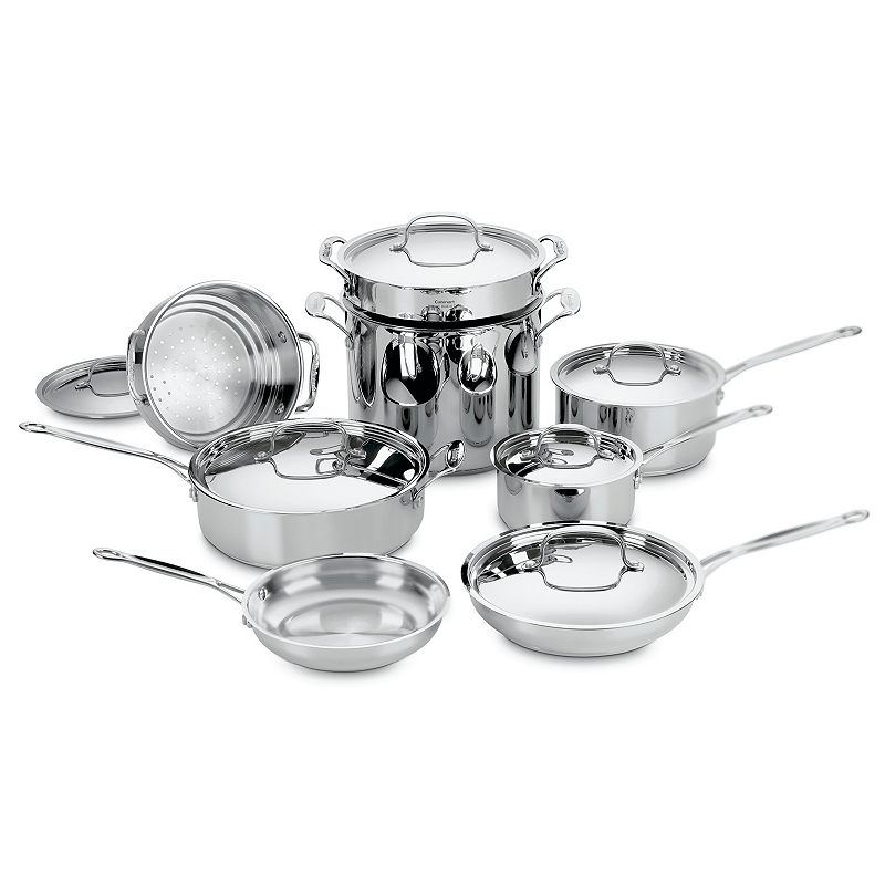 Cuisinart 14-pc. Chef's Classic Stainless Steel Cookware Set