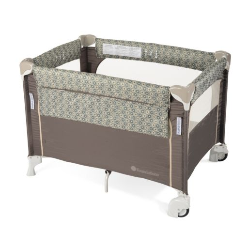 Foundations SleepFresh Elite Portable Crib