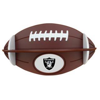 Oakland Raiders Football Shelf