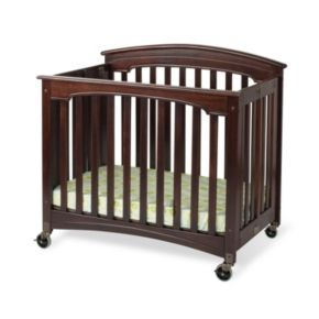 Foundations EasyRoll Folding Fixed Side Crib