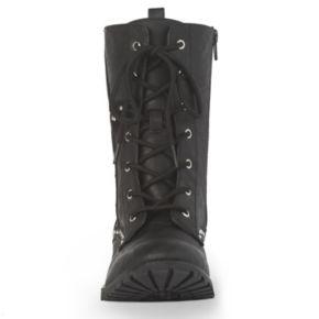 Gia-Mia Star Women's Dance Combat Boots