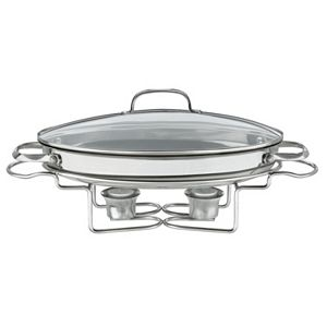 Cuisinart 13 1/2-in. Stainless Steel Oval Buffet Server