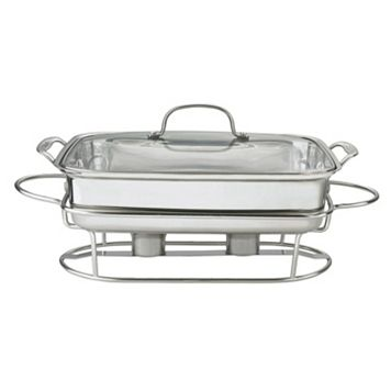 Cuisinart 12-in. Stainless Steel Rectangular Buffet Server