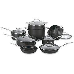 Cuisinart 14 pc Chef's Classic Hard-Anodized Nonstick Cookware Set