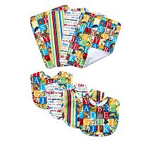 Dr. Seuss Alphabet Seuss Bouquet Bib & Burp Cloth Set by Trend Lab