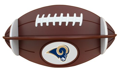 Los Angeles Rams Football Shelf