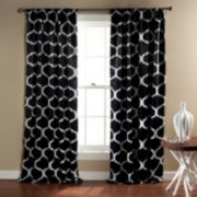 Lush Decor 2-pack Geo Blackout Window Curtains - 52'' x 84''