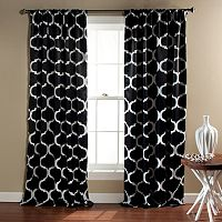Lush Decor 2-pack Geo Blackout Window Curtain - 52'' x 84''