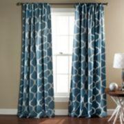 Lush Decor 2-pack Geo Blackout Window Curtains - 52'' x 84''
